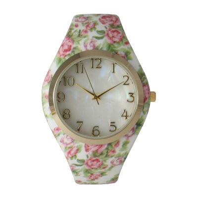 Olivia Pratt Unisex Pink Bracelet Watch-14025lightpink
