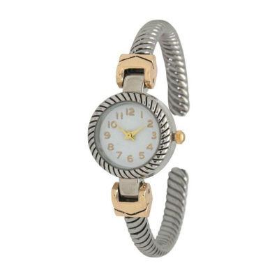 Olivia Pratt Unisex Two Tone Strap Watch-17063twotone