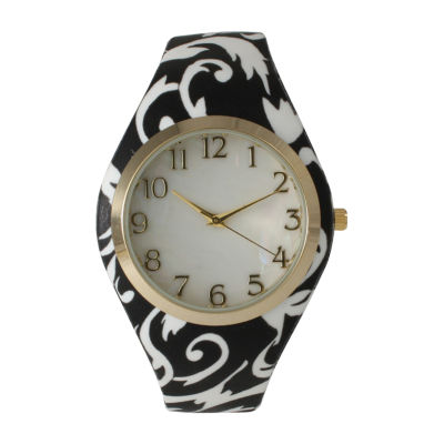 Olivia Pratt Unisex Black Bracelet Watch-14025black