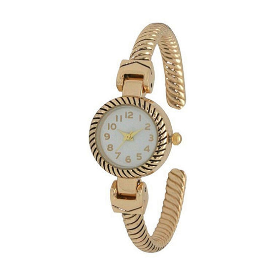 Olivia Pratt Unisex Adult Gold Tone Bracelet Watch - 17063gold