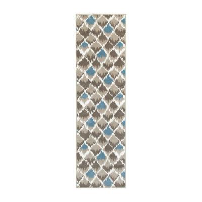 Grace Contemporary Diamond Rectangular Rug