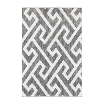 Grace Modern Fret Rectangular Rug
