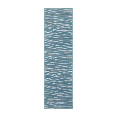 Grace Modern Striped Rectangular Rug