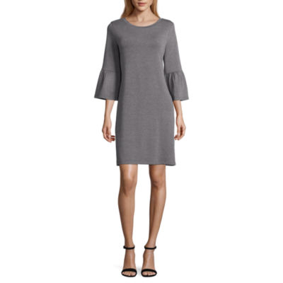 a.n.a. Bell Sleeve Shift Dress