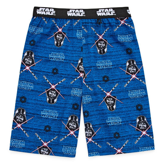 Star Wars Jersey Pajama Shorts-Big Kid Boys
