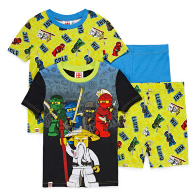 4-pc. Lego Ninjago Pajama Set Boys