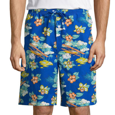 Stafford Men's Poplin Pajama Shorts