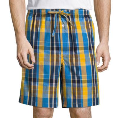 Stafford Poplin Pajama Shorts