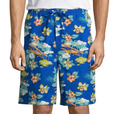 Stafford Men's Poplin Pajama Shorts - Big