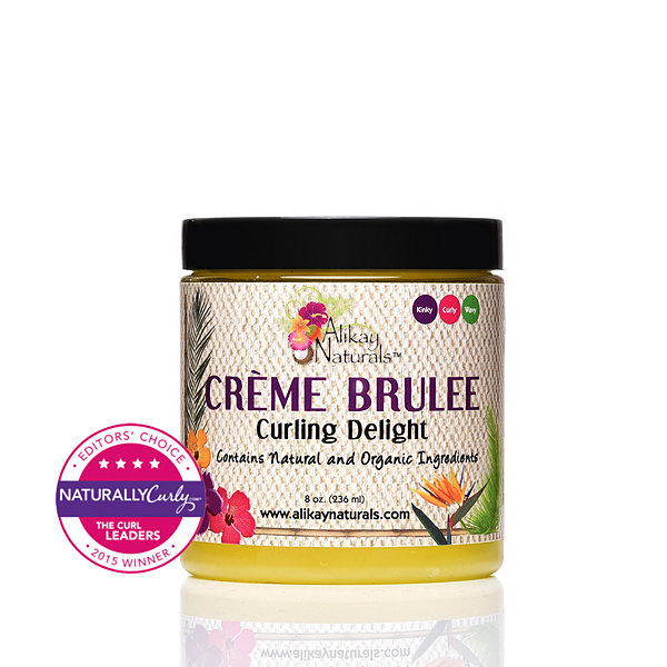 Alikay Naturals Crème Brulee Curling Delight Hair Lotion-8 oz.
