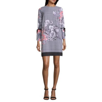 ECI Long Printed Dress