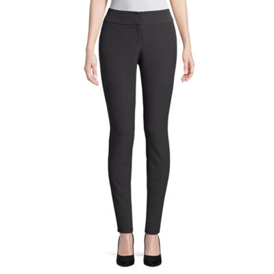 Worthington Curvy Fit Slim Leg Pant - Tall