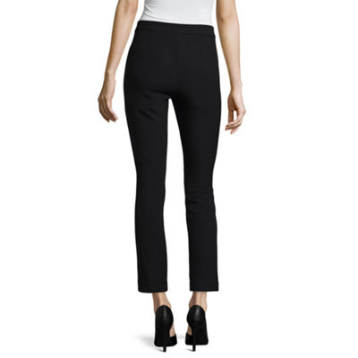Worthington Zipper Ankle Pant - Tall Inseam 30""