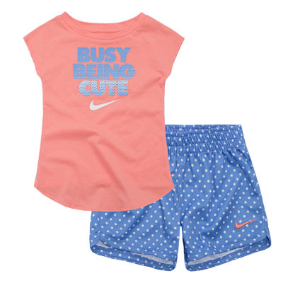 Nike Su18 Toddler Nike Sts 2-pack Short Set Toddler Girls