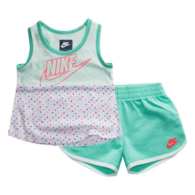 Nike 2-pc. Short Set Toddler Girls