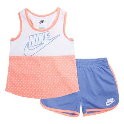 Nike Su18 Toddler Nike Sts 2-pc. Short Set Toddler Girls