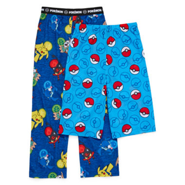 Pokemon Jersey Pajama Pants-Big Kid Boys