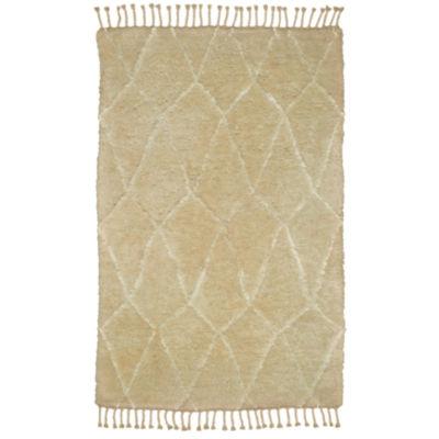Moroccan Contemporary Diamond Rectangular Rug