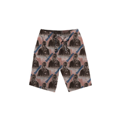 Star Wars Chewbacca Jersey Pajama Shorts
