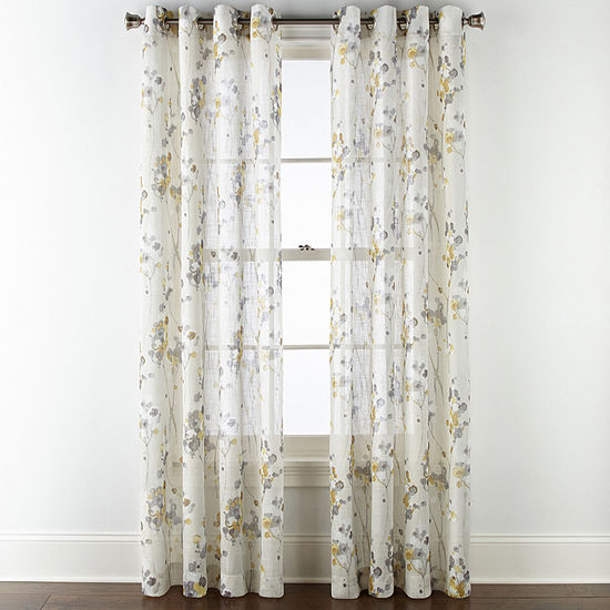 Jcpenney Home Caspian Grommet Top Curtain Panel