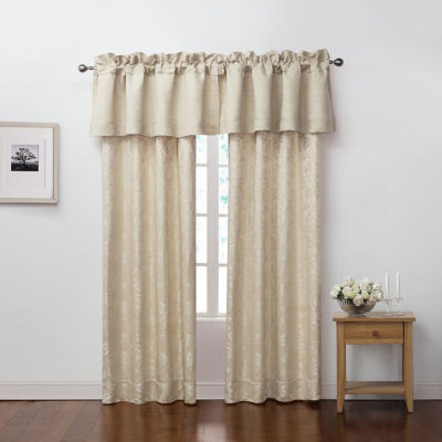 Marquis By Waterford Emilia Cream Curtain Panel Set