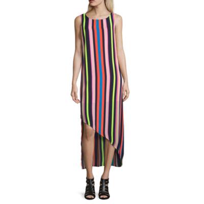 Project Runway Sleeveless Asymmetrical Tank Dress