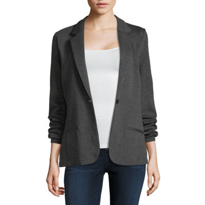 a.n.a Long Sleeve Ponte Blazer - Tall