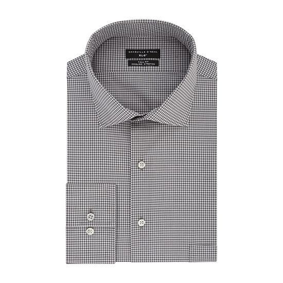 Shaquille O'Neal XLG Mens Long Sleeve Dress Shirt
