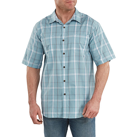 Dickies® WS525 Icon Short Sleeve Yarn Dyed Plaid Shirt