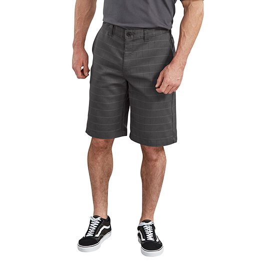 """Dickies® 11"""" FLEX Relaxed Fit Shadow Plaid Shorts"""
