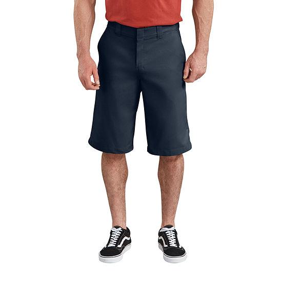 "Dickies® 13"" FLEX Active Waist Flat Front Shorts"