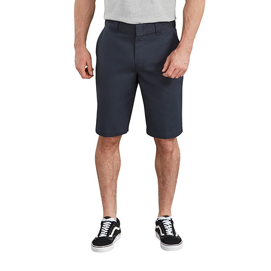 "Dickies® 11"" FLEX Active Waist Flat Front Shorts"