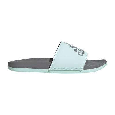 adidas Womens Cloudfoam Adilette Sandal Slide Sandals