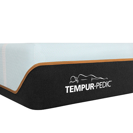 TEMPUR-Pedic LuxeBreeze Firm - Mattress Only, One Size , White