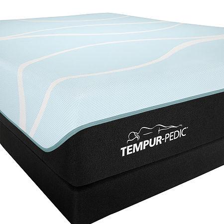 TEMPUR-Pedic ProBreeze Medium - Mattress + Box Spring, Twin Xl, White