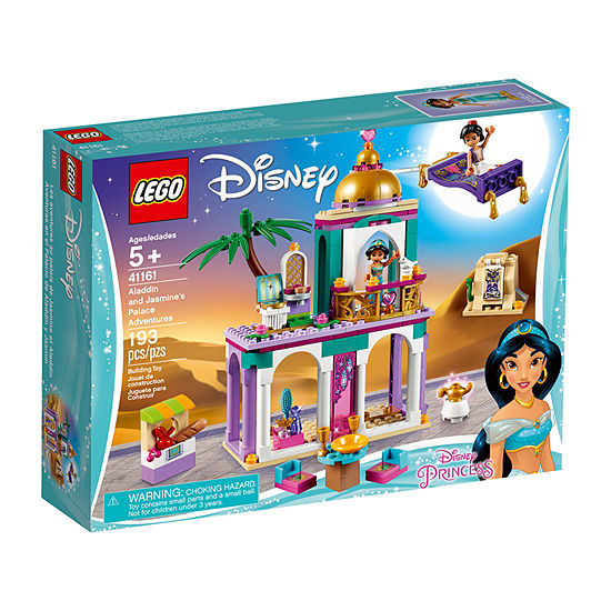 Lego Disney Princess Aladdin And Jasmines Palace Adventures 41161
