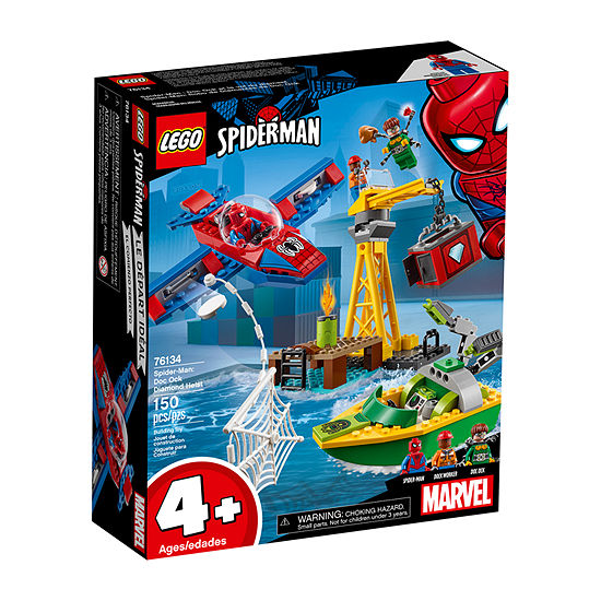 Lego Marvel Spider-Man: Doc Ock Diamond Heist 76134