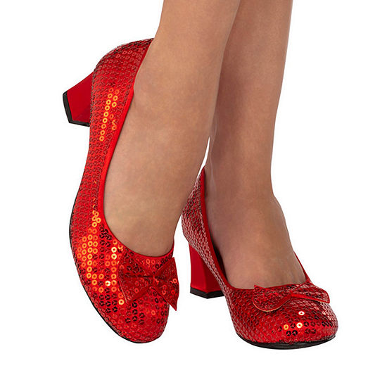 Red Sequin Adult Pump Costume