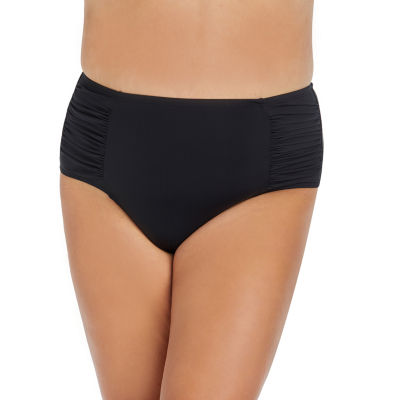 Ambrielle High Waist Swimsuit Bottom-Plus
