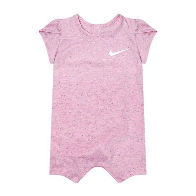 Nike Short Sleeve Romper - Baby Girls