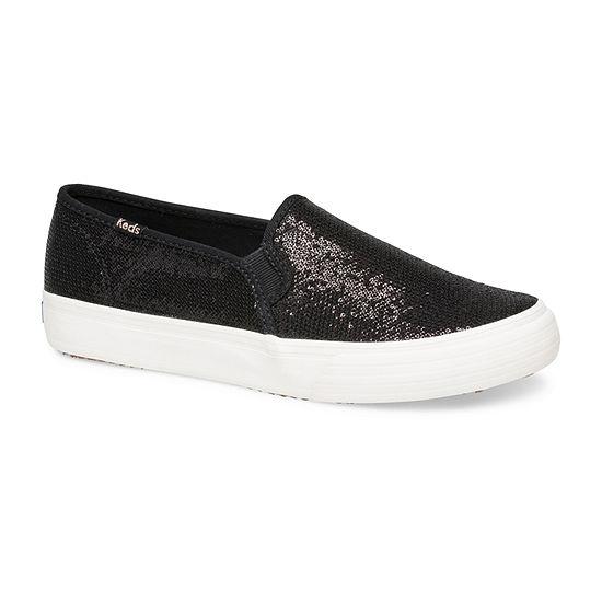 Keds Womens Double Decker Slip-On Shoe Round Toe