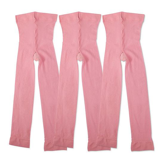 Jacques Moret Girls Footless Tight 3pk - Preschool / Big Kid
