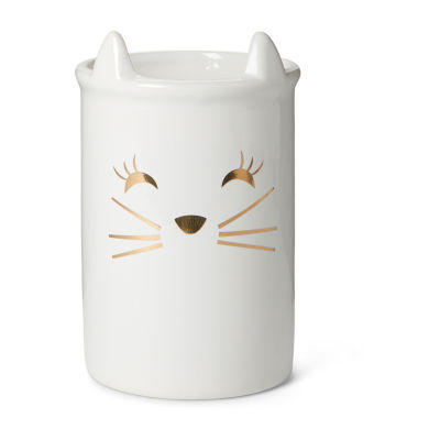 Cat Ceramic Holder Facial Brushes