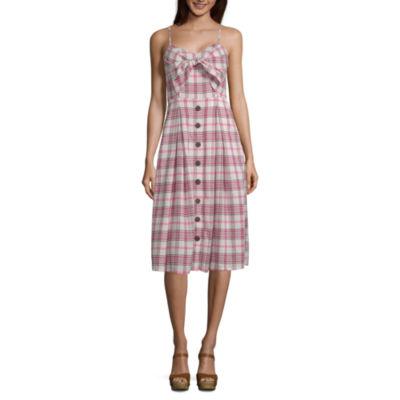 a.n.a Sleeveless Empire Waist Dress