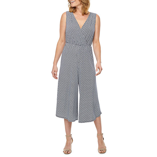Perceptions Sleeveless Jumpsuit