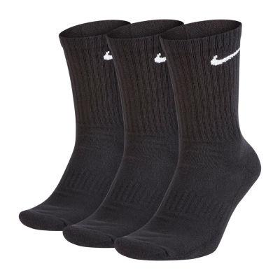 Nike 3 Pair Cushion Everyday Crew Socks-Mens