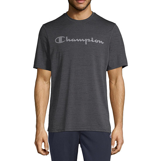 ad27af40b Champion Mens Crew Neck Short Sleeve Moisture Wicking T-Shirt - JCPenney