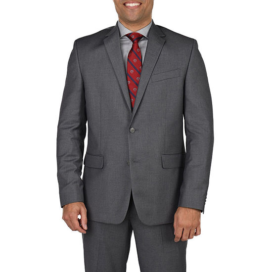 Dockers Medium Gray Classic Fit Stretch Suit Jacket-Big and Tall