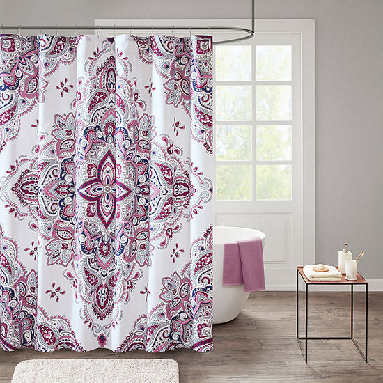 510 Design Emmi Printed Shower Curtain