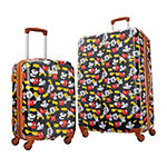 American Tourister Minnie Denim Krush Mickey Mouse 20 Inch Lightweight Luggage